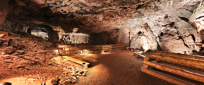 The underground views are incredible - the vastness of the space will definitely shock you.