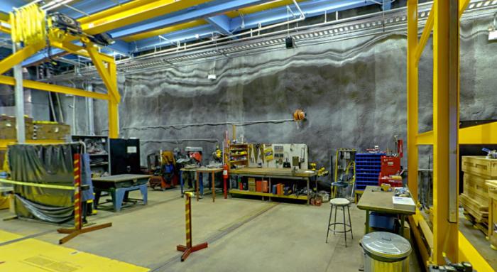 The University of Minnesota also runs an underground lab on its premises.