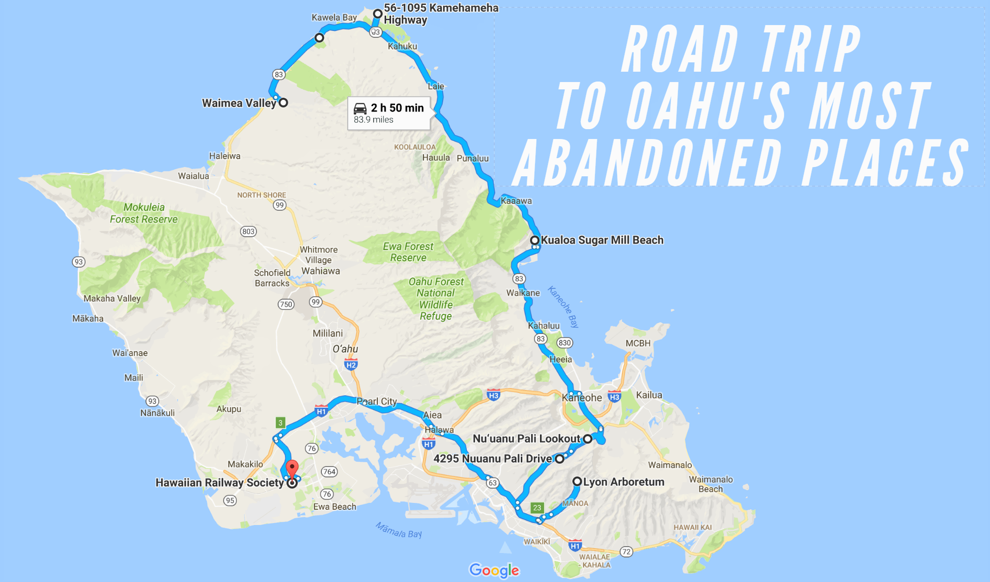 We Dare You To Take This Road Trip To Oahu S Most