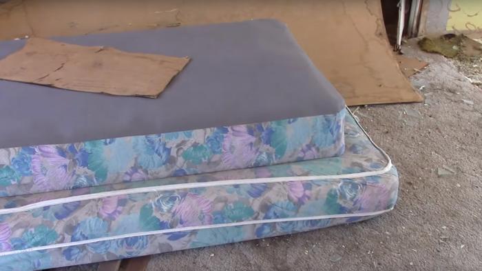 ... mattresses ...
