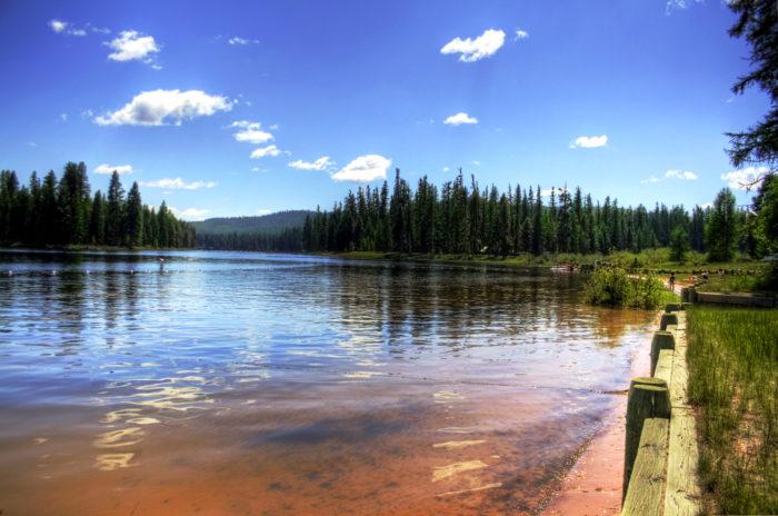 13. Visit Seeley Lake.