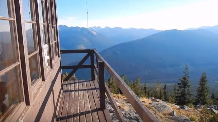 Shorty Peak was originally built in 1927, but updated in the 60s, making it one of the best maintained lookouts in the country.