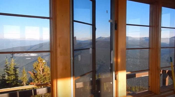 With four walls of windows and a 360-degree view, there's seemingly nothing that you can't see from up here.