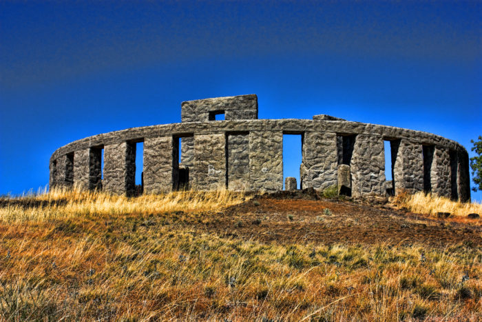 7. The Maryhill Stonehenge is an ode to the real thing.