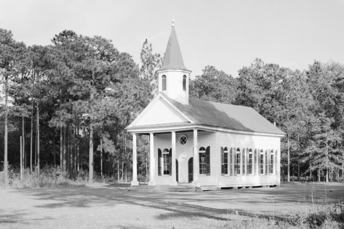 Stoney Creek Presbyterian Church can be found on the outskirts of Yemassee.