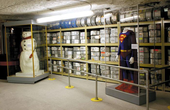 ...iconic Underground Vaults & Storage Gallery...