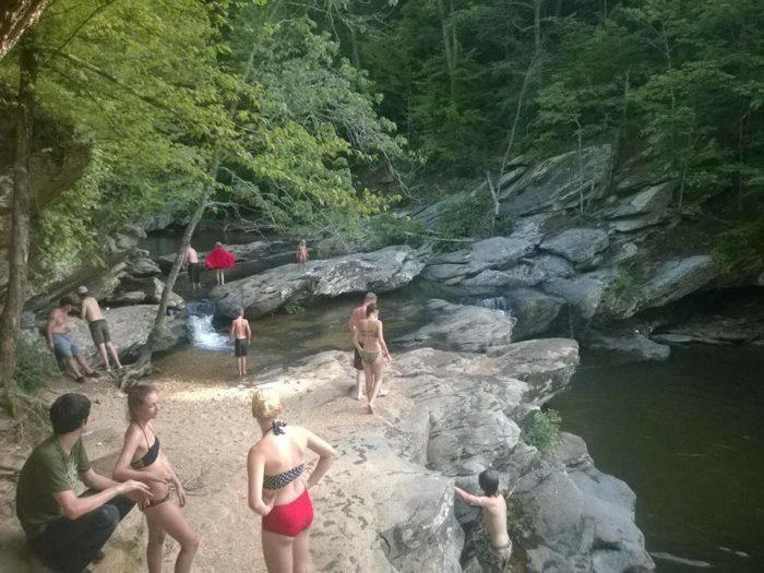 6 Waterfall Swimming Holes In Alabama