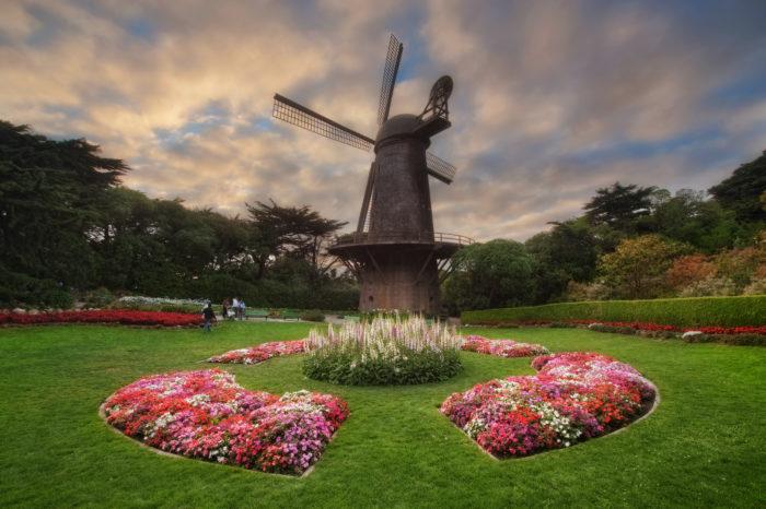 6. The Dutch & Murphy Windmills in Golden Gate Park