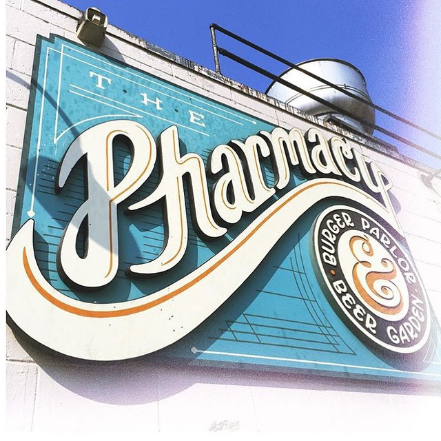 10. The Pharmacy Burger Parlor & Beer Garden