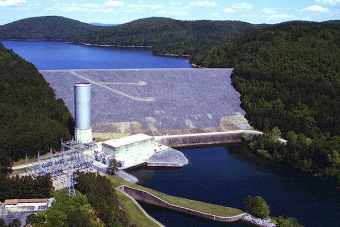 10.Blakely Mountain Dam (Lake Ouachita)