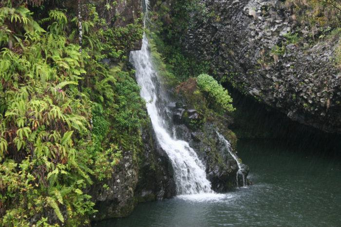3. Upper Hanawi Falls