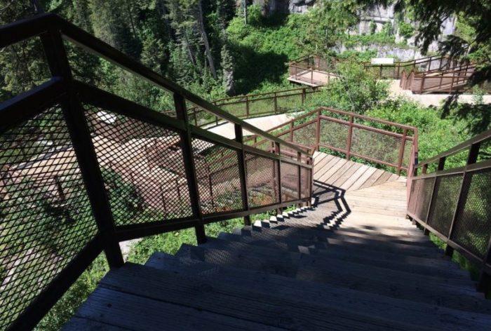 2. Upper Mesa Falls Boardwalk