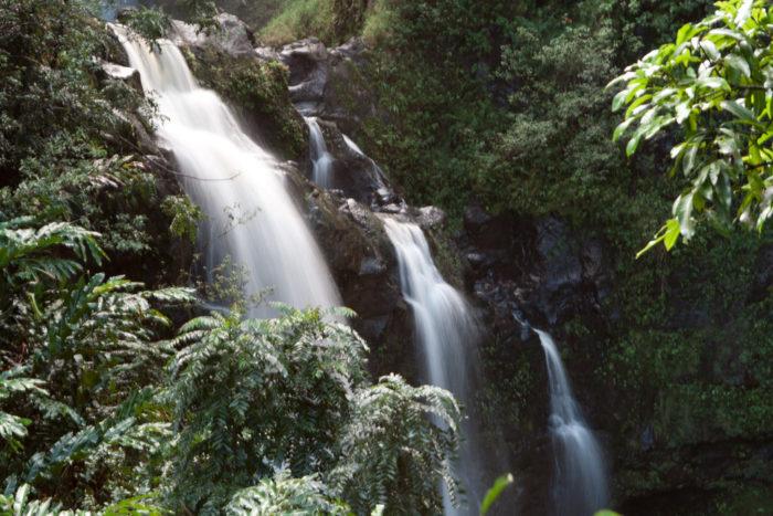9. Upper Waikani Falls