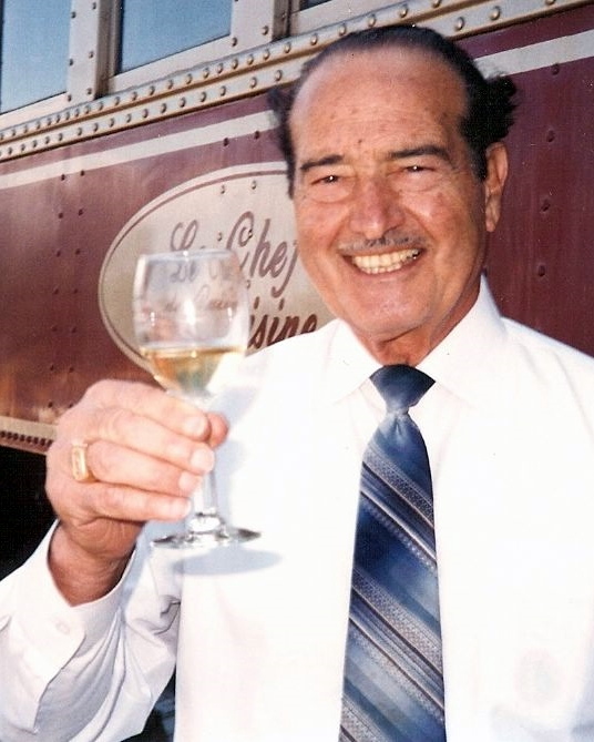 With help from San Francisco resident Vincent DeDomenico, inventor of Rice-A-Roni and former owner of Ghirardelli Chocolate, the Napa Valley Wine Train officially opened to the public in 1989.