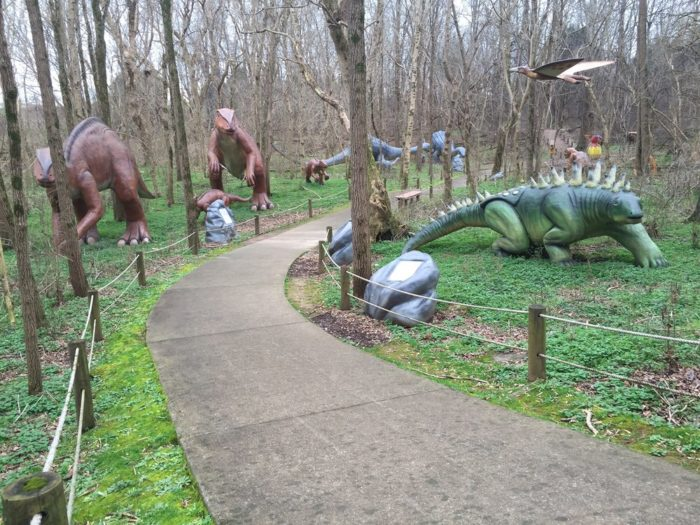 Visitors have more than 20 acres to explore.