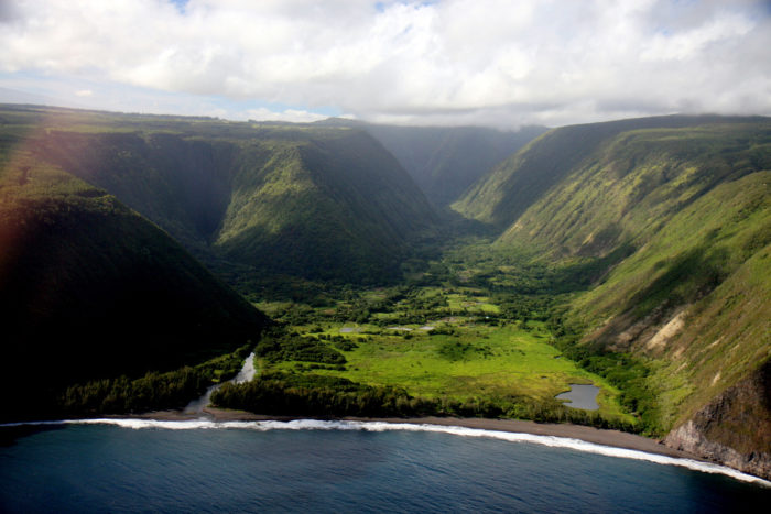 The sacred Waipio Valley was once the boyhood home of King Kamehameha I, and is an important site for Hawaiian history and culture. According to oral history, as many as 10,000 people lived in Waipio Valley before Captain Cook's landing in 1778.