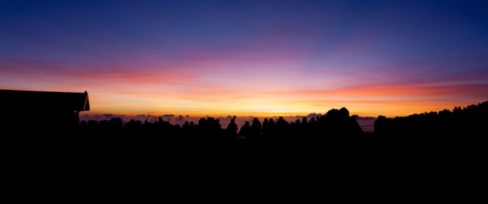 4. Watch the sunrise from the summit of Haleakala.