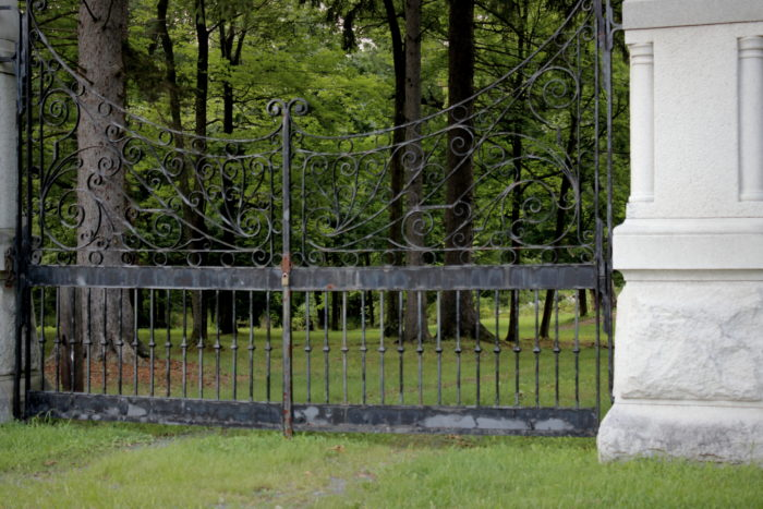 Another reason people believe this could be one of the Gateways to Hell? The unexplained phenomena that tends to occur at the entrance of the cemetery, specifically near the receiving tomb.