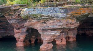 This Video Shows You Just How Amazing These Wisconsin Sea Caves Are