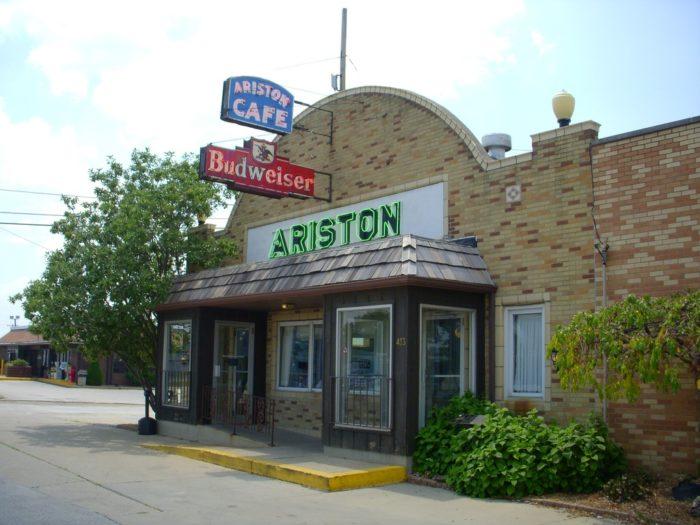 6. Ariston Cafe