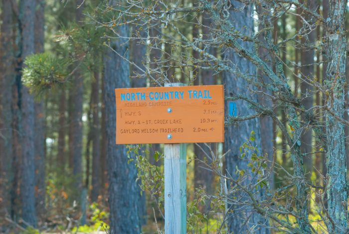 If you follow the trail, you eventually hit St. Croix National Scenic Riverways, one of only three national parks on the trail.