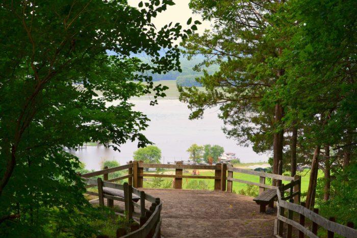 4. Mississippi Palisades State Park