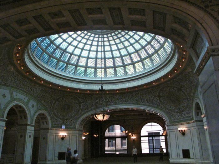10. Chicago Cultural Center