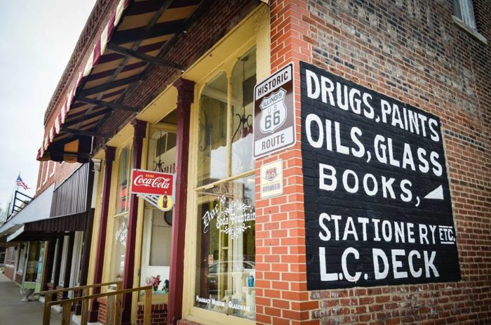 This was actually a pharmacy from the 1880s.