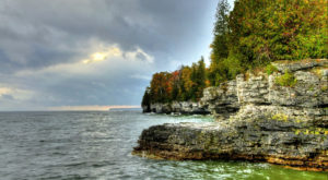 This Secret Sea Cave In Wisconsin Is A Must Visit