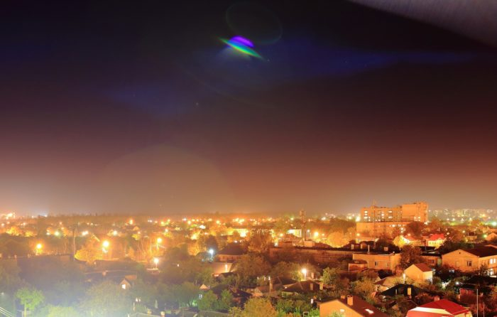 11. Everyone up there sees UFOs.