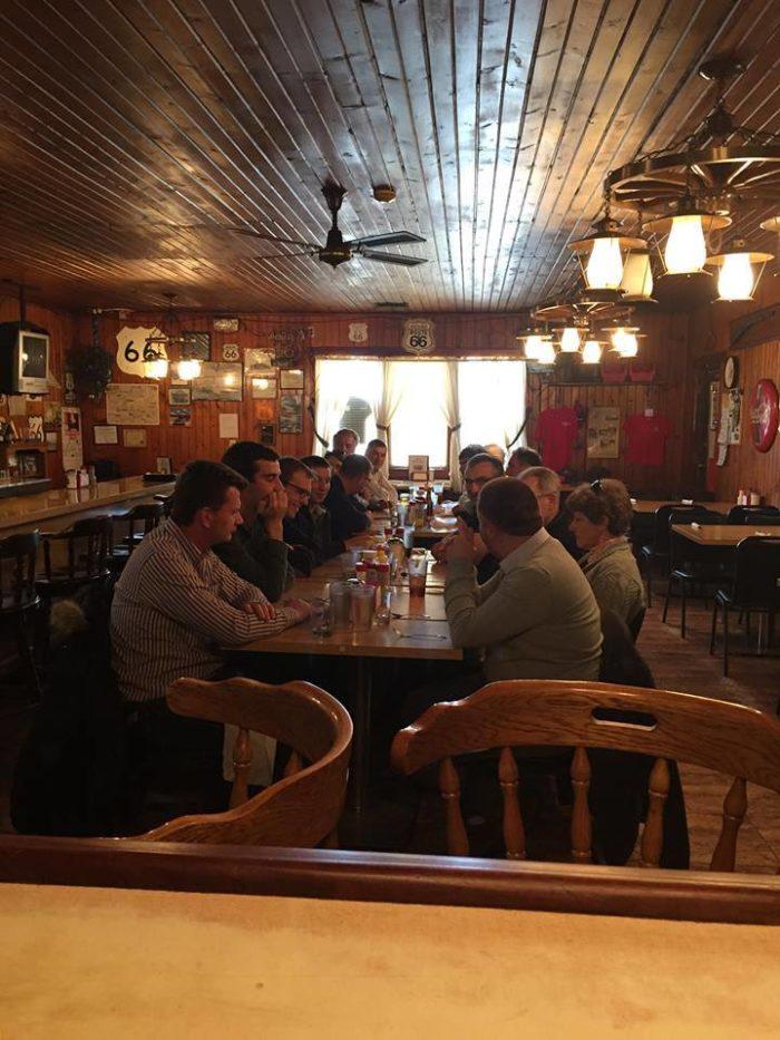 2. Old Log Cabin Restaurant