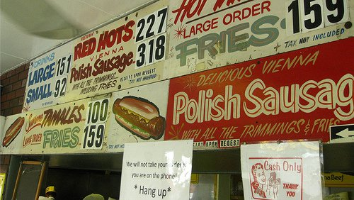 3. Jimmy's Red Hots