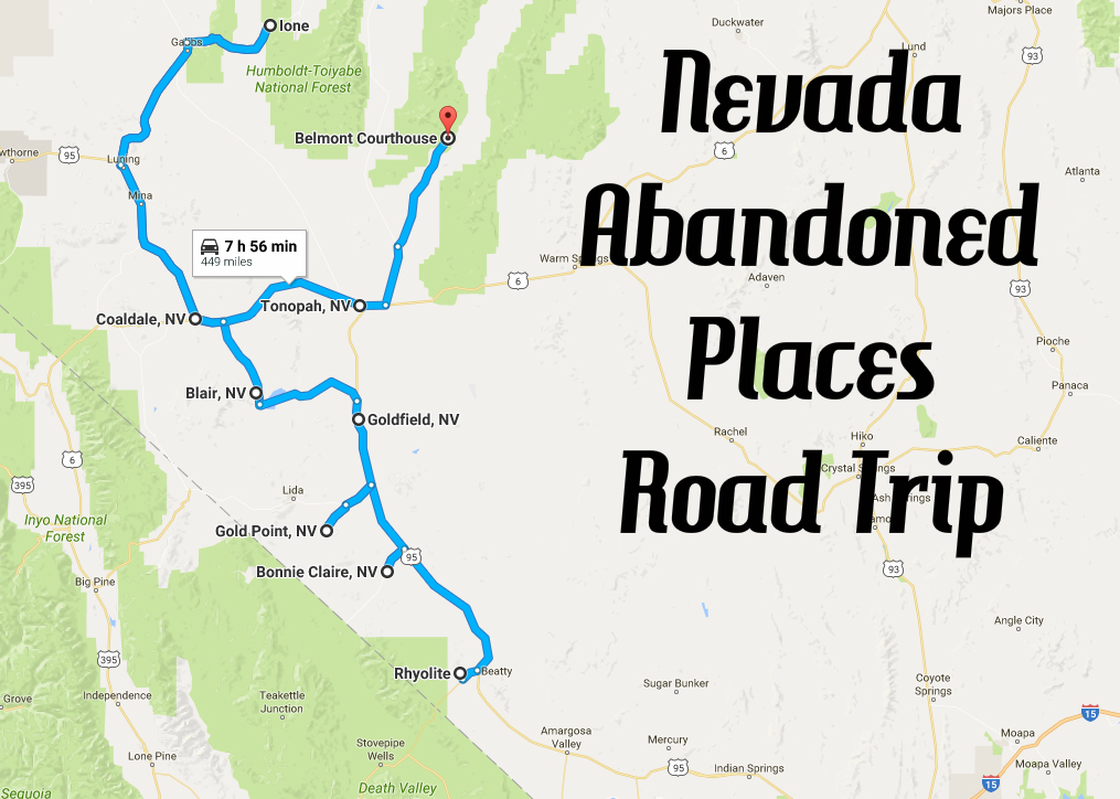 We Dare You To Take This Nevada Abandoned Places Road Trip