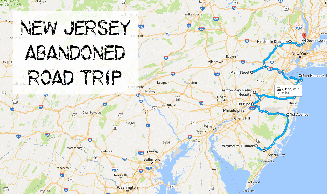 New Jersey Abandoned Places Road Trip