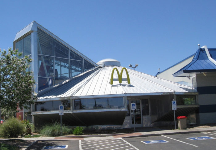 5. Given that the McDonald's in Roswell resembles a UFO, it takes a lot to make a New Mexican raise an eyebrow.