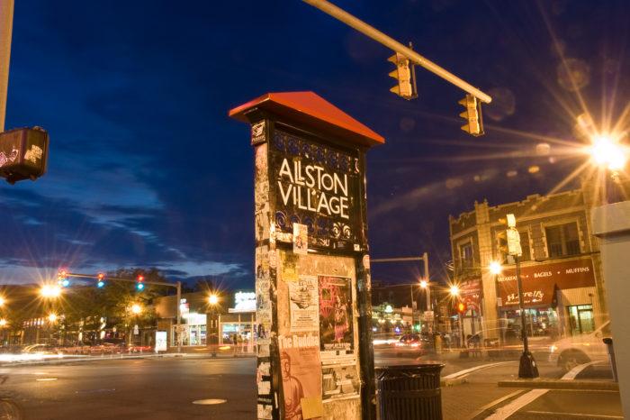7. College Vibe - Allston