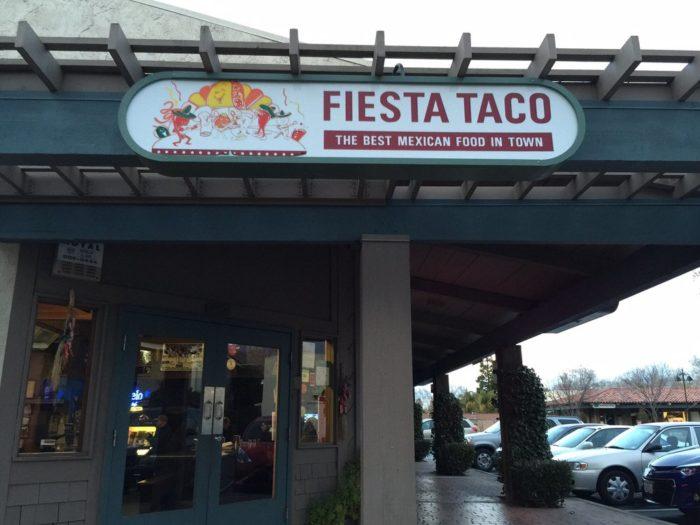 10. Fiesta Taco 1989 Santa Rita Rd., Ste J, Pleasanton