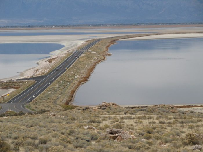 Antelope Island is about 40 miles north of Salt Lake City. To get there, take exit 332 off I-15, then drive across the causeway (Antelope Drive).