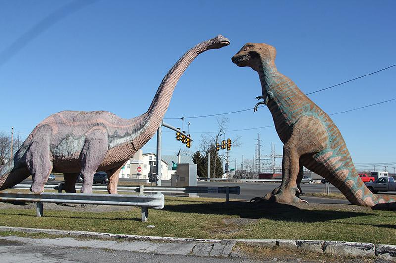 Unique Dinosaur Park Near Washington Dc