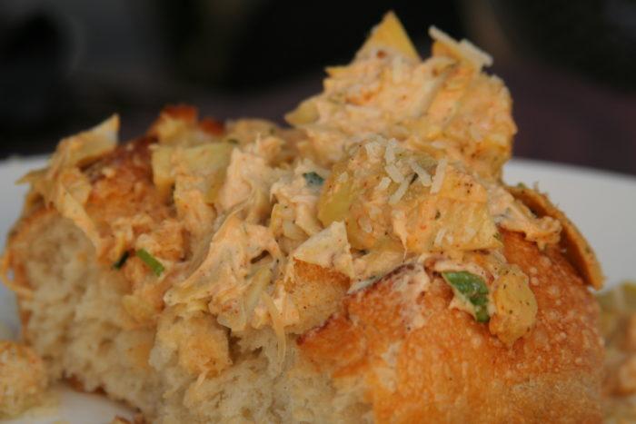 7. Crab & Artichoke Dip