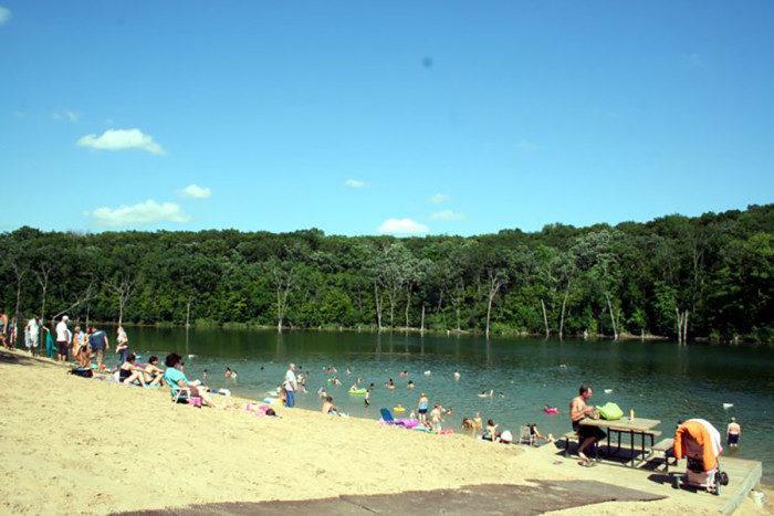 11. Chester Woods Swimming Beach
