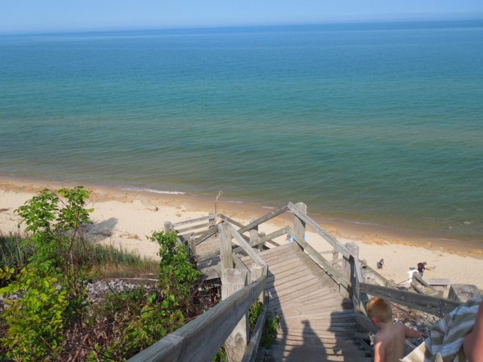 1. Orchard Beach State Park (Manistee)