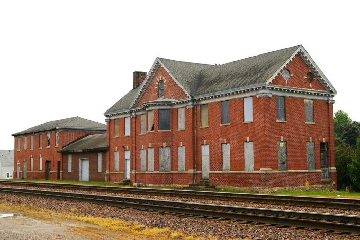 4. Belle Plaine Train Station