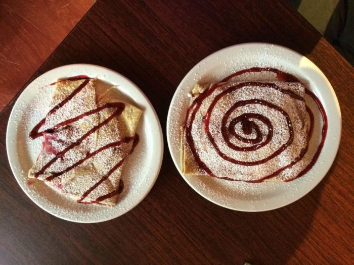 First, narrow it down to whether or not you'll want a savory or sweet crepe!