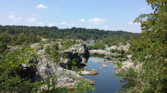The biggest drawback to the Billy Goat Trail is its popularity. You'll almost come across hikers, runners, and bikers.
