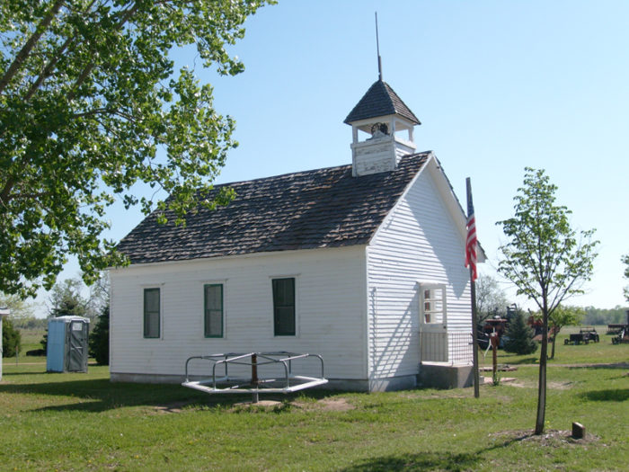 20 Historic One-Room Schoolhouses in Nebraska Old One Room School Building