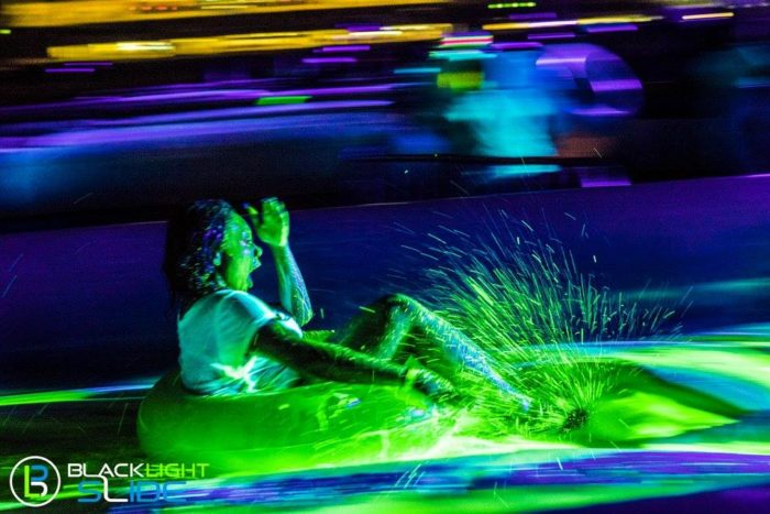 ...look no further than the Blacklight Slide.