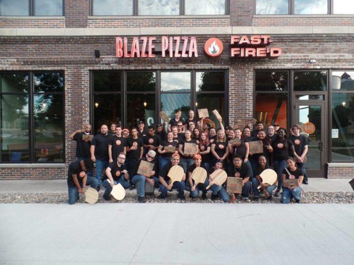 7. Blaze Fast Fire'd Pizza