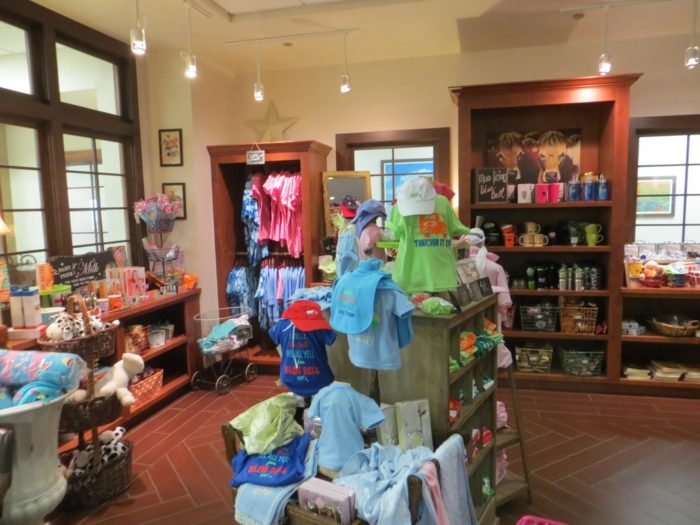 There's even a gift shop so you can represent Blue Bell wherever you go.