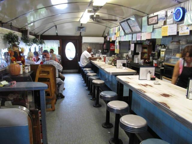 6.  Try the pancakes at the Blue Benn Diner.